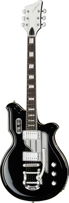 Eastwood Guitars Airline Map DLX BK