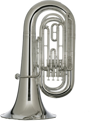 Melton 2011TA-S Bb-Tuba Top Action
