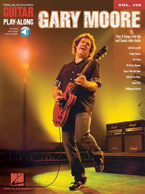 Hal Leonard Gary Moore Guitar Play-Along