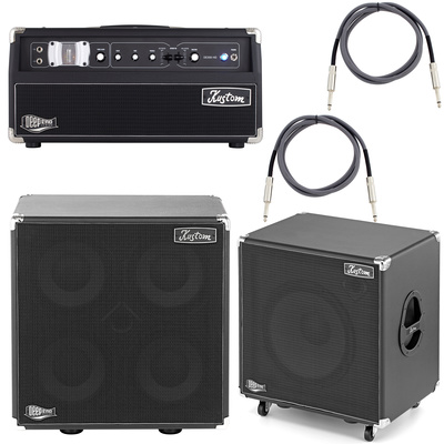 Kustom DE300 HD Head Bundle 5