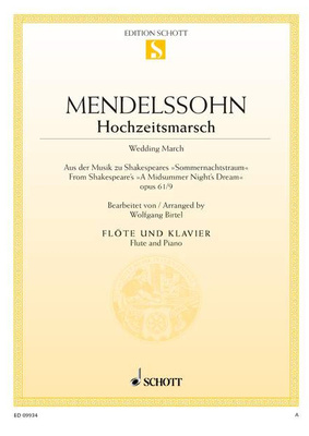 Schott Mendelssohn Wedding March Fl