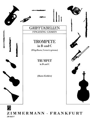Zimmermann Verlag Fingering Chart Trumpet  Thomann Uk