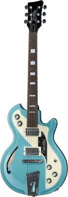 Italia Guitars Mondial Classic Guitar Blue