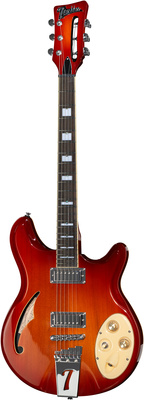 Italia Guitars Rimini 6 Cherry Sunburst
