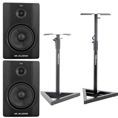 M-Audio BX8 D2 Stativ Set