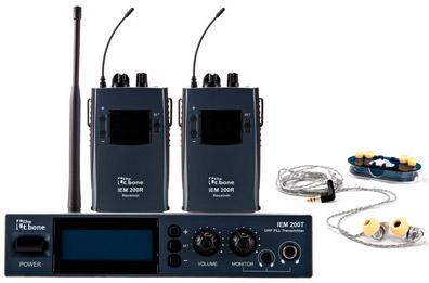the t.bone IEM 200 - 740 MHz Bundle
