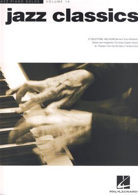 Hal Leonard Jazz Piano Solos Jazz Classics