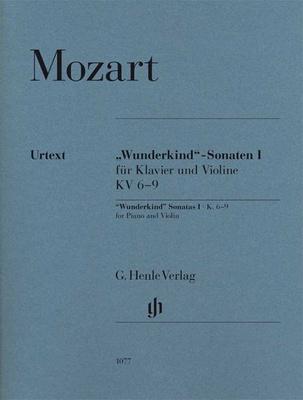 """Henle Verlag Mozart """"Wunderkind"""" 1 Violin"""