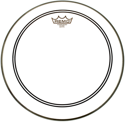 "Remo 13"" Powerstroke 3 Clear CS-Dot"