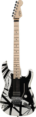 Evh Stripe White
