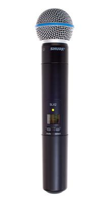 Shure SLX 2 / Beta 58A / K3E