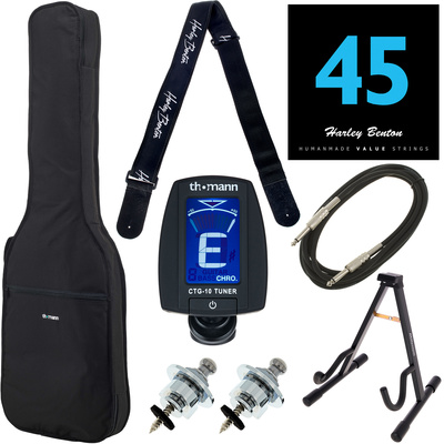 Harley Benton Accessory Bass Guitar Pack