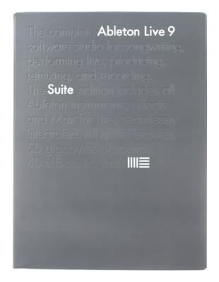 Ableton Live 9 Suite Upg. Live Intro E