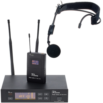 the t.bone free solo 863 Headset Bundle