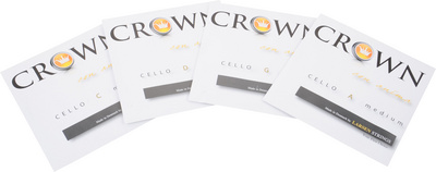 Crown By Larsen Cello String A Medium 4/4