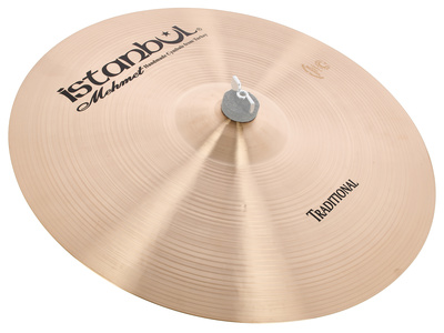 "Istanbul Mehmet 17"" Thin Crash Traditional"