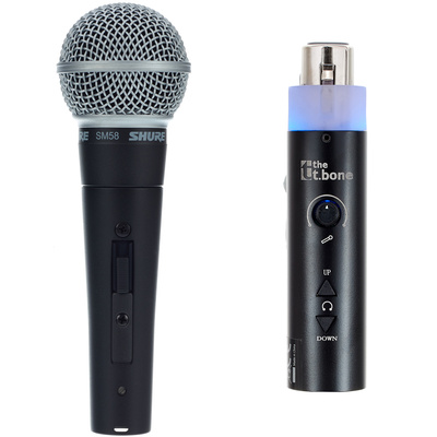 Shure SM58 USB Bundle