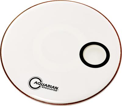 """Aquarian 24"""" Regulator White Bass Drum"""