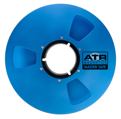 "ATR Magnetics Master Tape 2"" empty Reel"