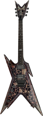 Dean Guitars Razorback - Skulls Lefty