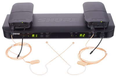 Shure BLX188/MX53 Combo S8 B-Stock