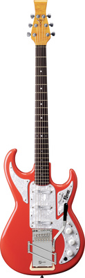 Burns Barracuda Bass Guards Red