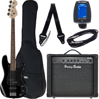 Fender SQ Affinity P-Bass BK Bundle1