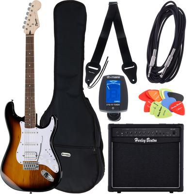 Fender SQ Bullet Strat HSS SB Bundle2