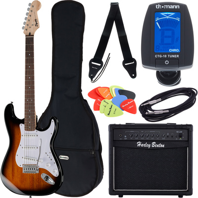 Fender SQ Bullet Strat RW SB Bundle1