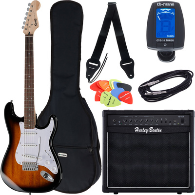Fender SQ Bullet Strat RW SB Bundle2