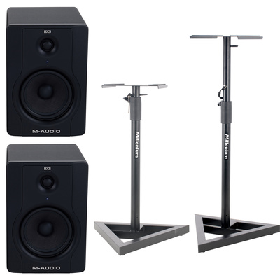 M-Audio BX5 D2 Stand Bundle