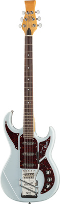 Burns Barracuda Bass White