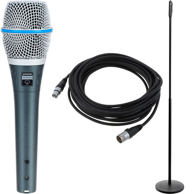 Shure Beta 87a Elegance Bundle