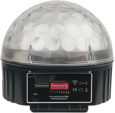 Showtec Disco Star 3x 3 Watt R B-Stock