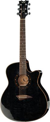 Dean Guitars Exotica Quilt Ash TBK