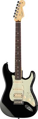 Fender AM DLX Strat Plus HSS MBLK