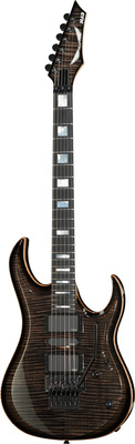 Dean Guitars Custom Shop MAB Trans Black