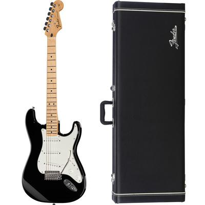 Fender Standard Strat MN BK Bundle