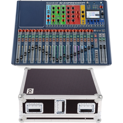 Soundcraft SiEx2 Case Bundle