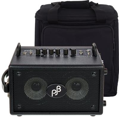 Phil Jones Double Four BG-75 BK Bundle