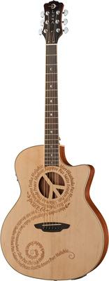 Luna Guitars Oracle Peace