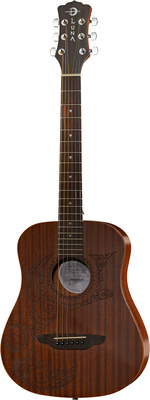 Luna Guitars Safari Polynesian Tattoo
