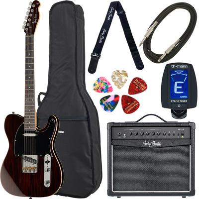 Harley Benton TE-70 Rosewood Deluxe Set 1