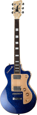 Italia Guitars Maranello Classic Guitar Blue