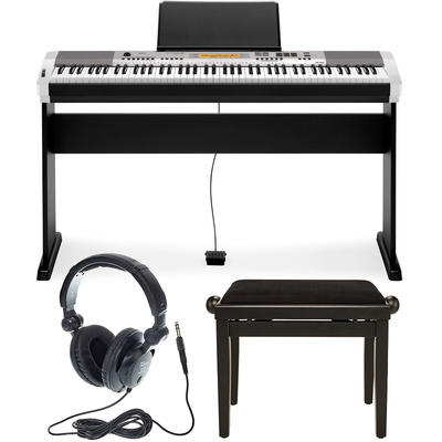 Casio CDP-230R SR Deluxe Bundle