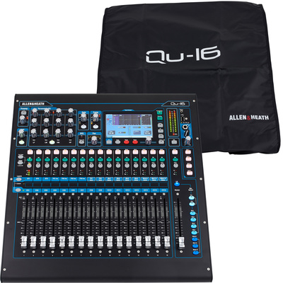 Allen & Heath Qu-16 Cover Bundle