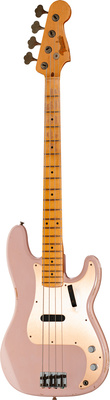 Fender 59 P-Bass Relic shell pink