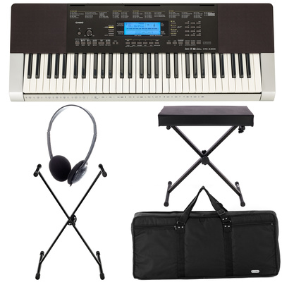 Casio CTK-4400 Deluxe Bundle