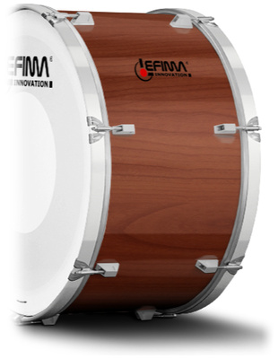 Lefima Cylinder Color Walnut Satin