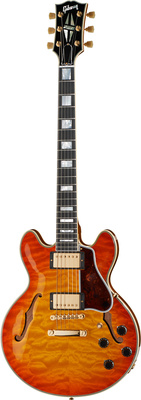 Gibson CS-356 Ltd Quilt TangerinBurst